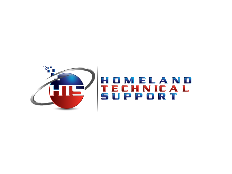 Logo Design by Private User - Entry No. 71 in the Logo Design Contest Captivating Logo Design for Homeland Technical Support.