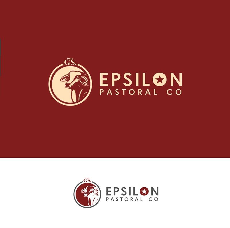 Logo Design by Fita Tiara Sani - Entry No. 134 in the Logo Design Contest Imaginative Logo Design for EPSILON PASTORAL CO.