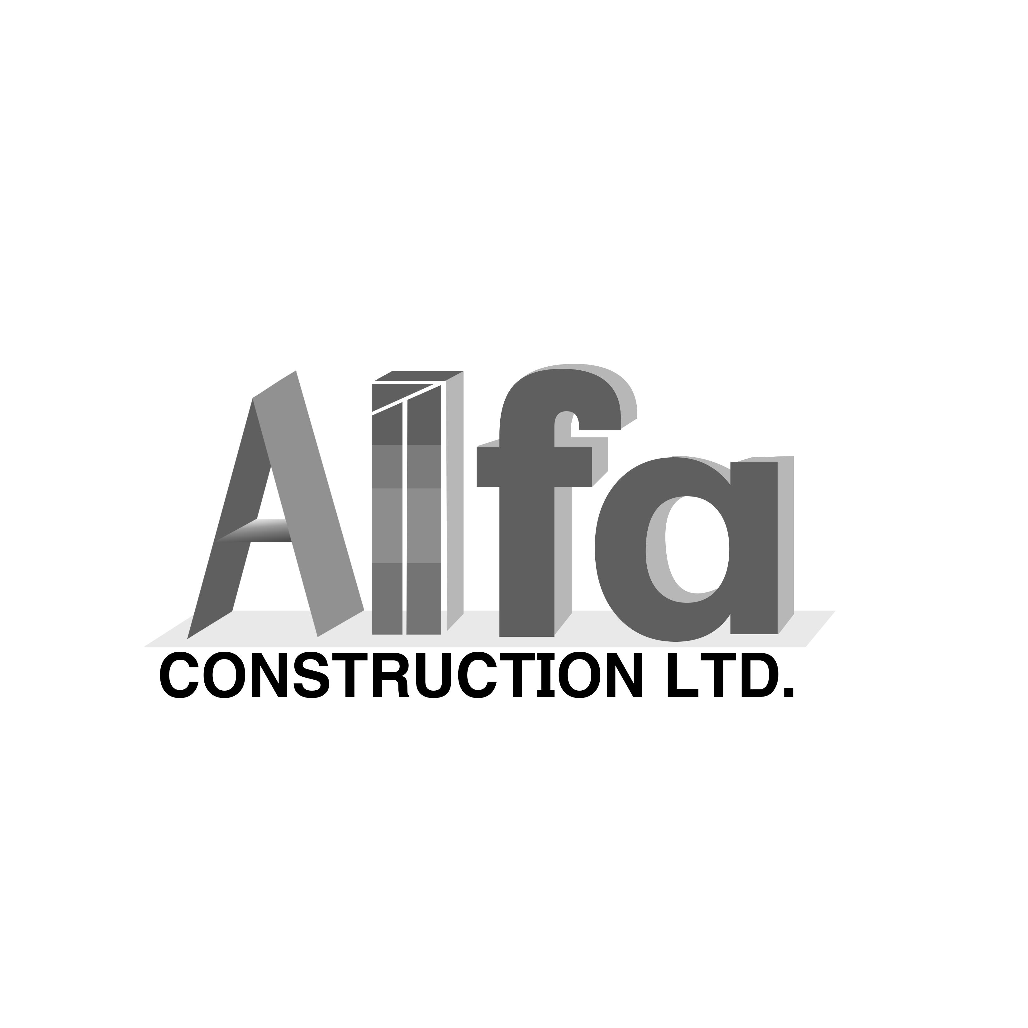 Logo Design by Allan Esclamado - Entry No. 5 in the Logo Design Contest Fun Logo Design for Alfa Construction Ltd.