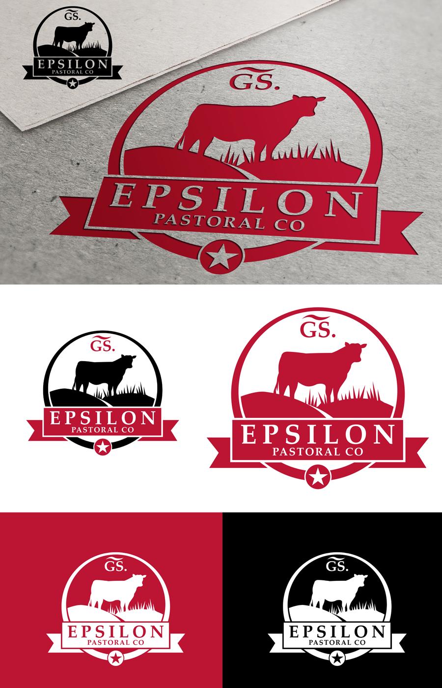Logo Design by Private User - Entry No. 135 in the Logo Design Contest Imaginative Logo Design for EPSILON PASTORAL CO.