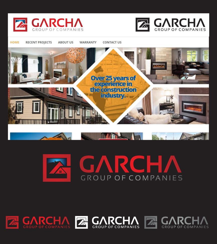 Logo Design by RasYa Muhammad Athaya - Entry No. 100 in the Logo Design Contest New Logo Design for Garcha Group of Companies.