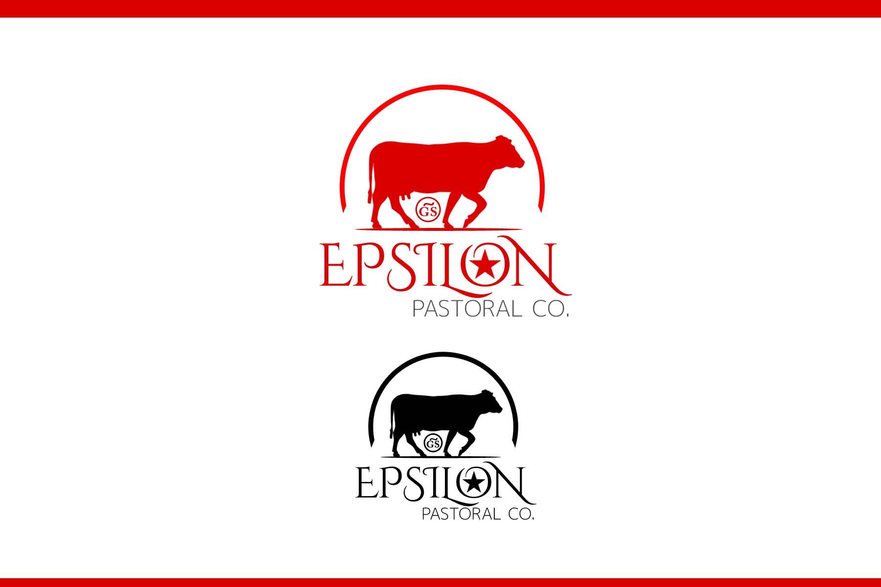 Logo Design by Private User - Entry No. 141 in the Logo Design Contest Imaginative Logo Design for EPSILON PASTORAL CO.
