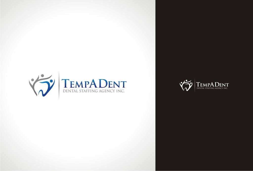 Logo Design by Gemboz Art - Entry No. 25 in the Logo Design Contest Artistic Logo Design for TempADent Dental Staffing Agency Inc..