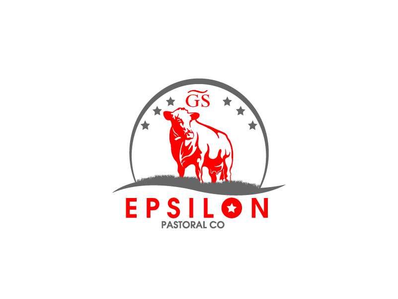 Logo Design by brands_in - Entry No. 147 in the Logo Design Contest Imaginative Logo Design for EPSILON PASTORAL CO.