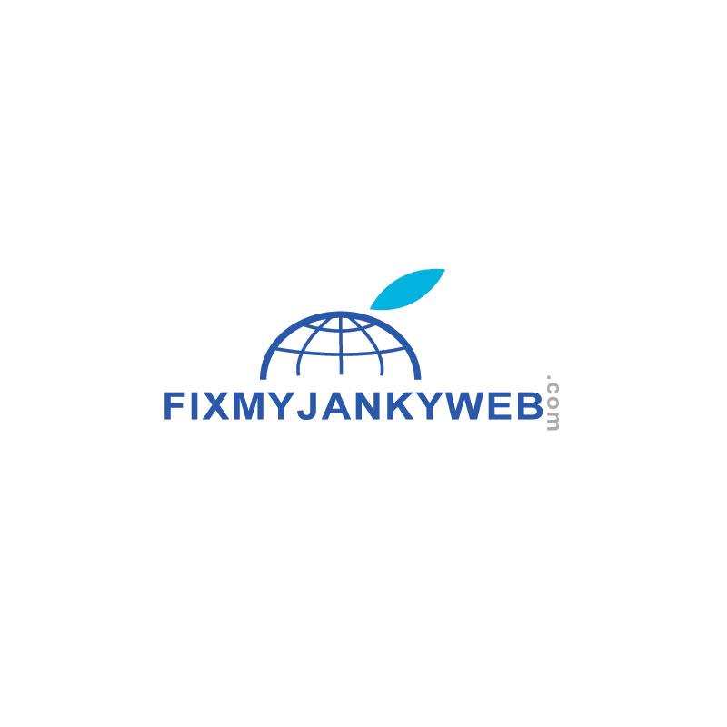 Logo Design by Private User - Entry No. 39 in the Logo Design Contest Artistic Logo Design for FixMyJankyWebsite.com.