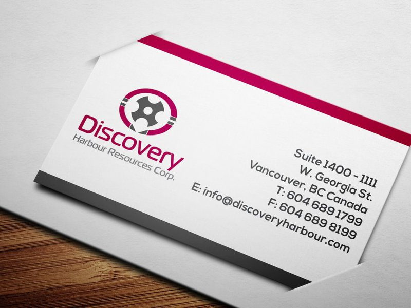 Logo Design by Private User - Entry No. 3 in the Logo Design Contest 2BAR - Imaginative Logo Design for Discovery Harbour Resources Corp..