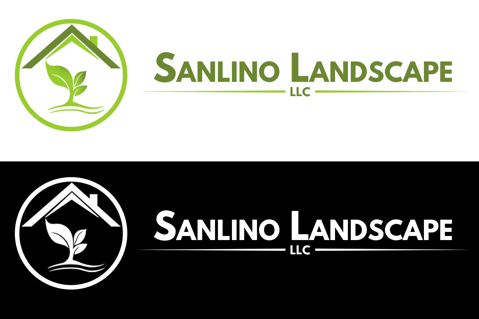 Logo Design by Aljohn Mana-ay - Entry No. 9 in the Logo Design Contest New Logo Design for Sanlino Landscape, LLC.