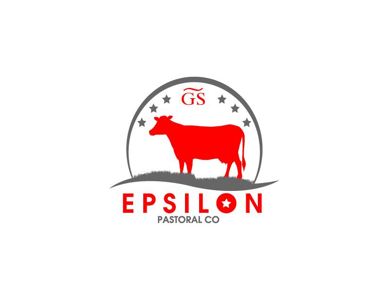 Logo Design by brands_in - Entry No. 153 in the Logo Design Contest Imaginative Logo Design for EPSILON PASTORAL CO.