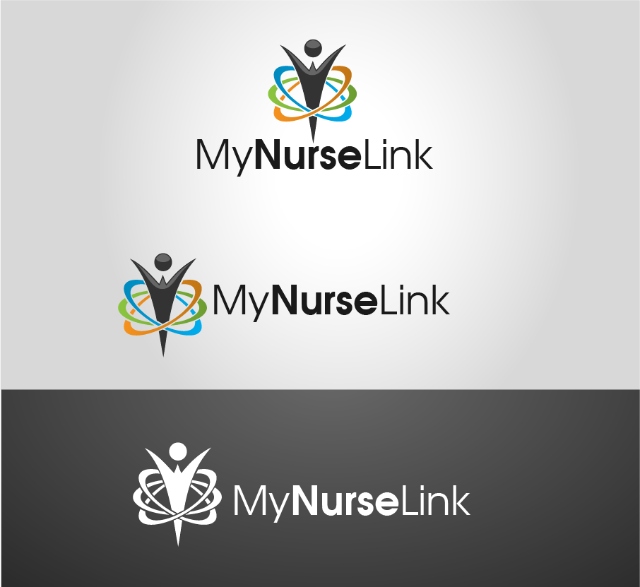 Logo Design by brands_in - Entry No. 24 in the Logo Design Contest Imaginative Logo Design for MyNurseLink.