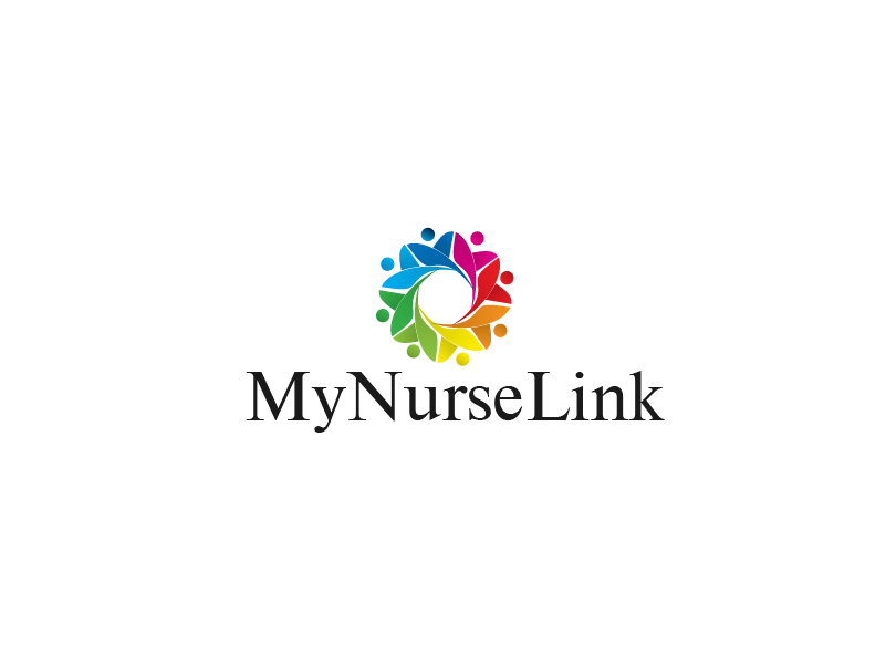 Logo Design by Private User - Entry No. 26 in the Logo Design Contest Imaginative Logo Design for MyNurseLink.