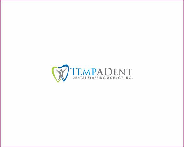 Logo Design by Armada Jamaluddin - Entry No. 46 in the Logo Design Contest Artistic Logo Design for TempADent Dental Staffing Agency Inc..