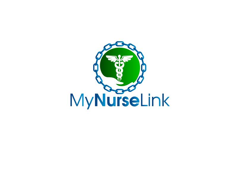 Logo Design by Private User - Entry No. 41 in the Logo Design Contest Imaginative Logo Design for MyNurseLink.