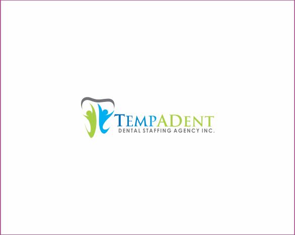 Logo Design by Armada Jamaluddin - Entry No. 52 in the Logo Design Contest Artistic Logo Design for TempADent Dental Staffing Agency Inc..