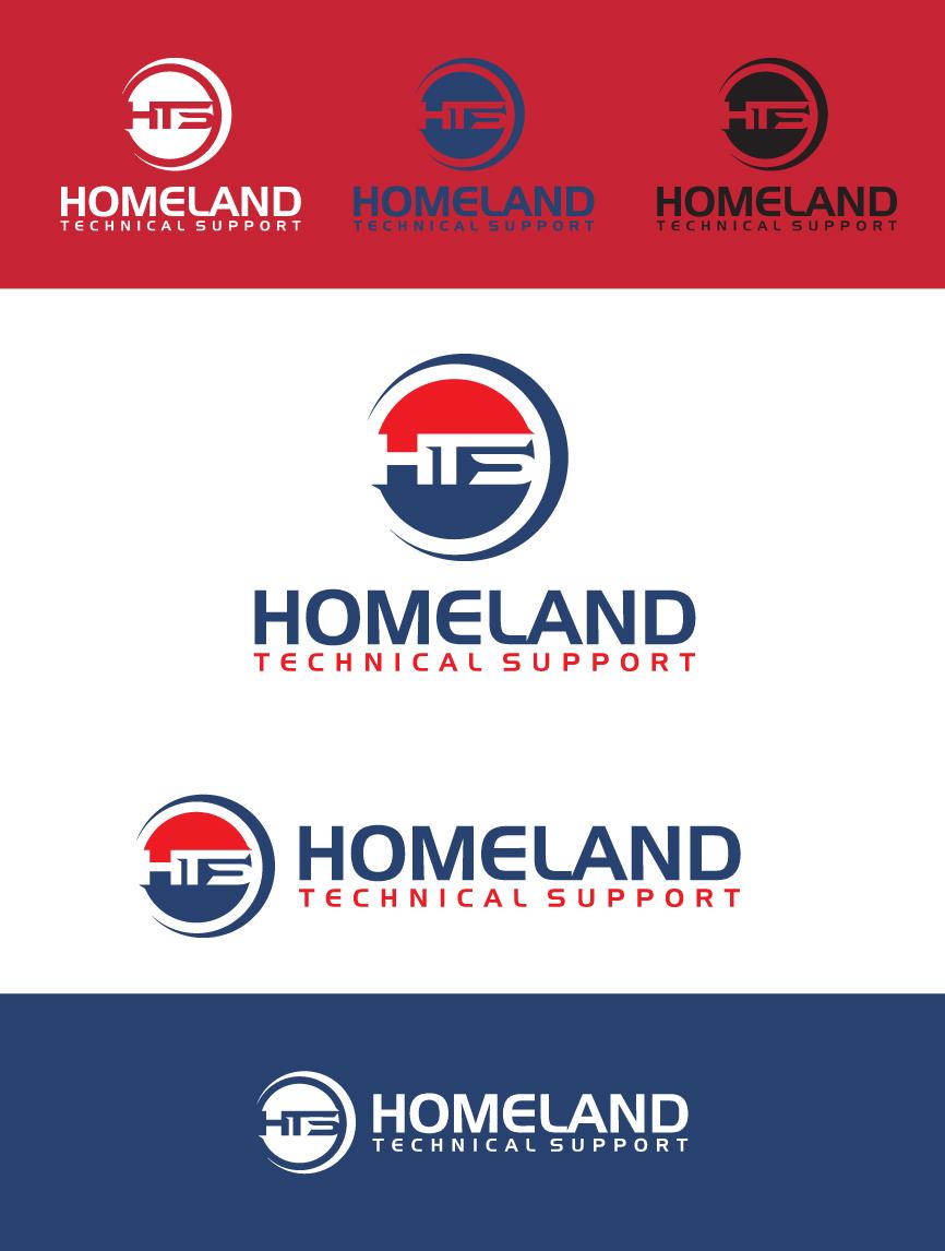 Logo Design by RasYa Muhammad Athaya - Entry No. 95 in the Logo Design Contest Captivating Logo Design for Homeland Technical Support.