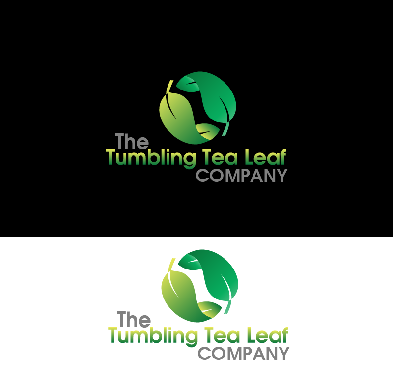 Logo Design by Private User - Entry No. 1 in the Logo Design Contest Creative Logo Design for The Tumbling Tea Leaf Company.