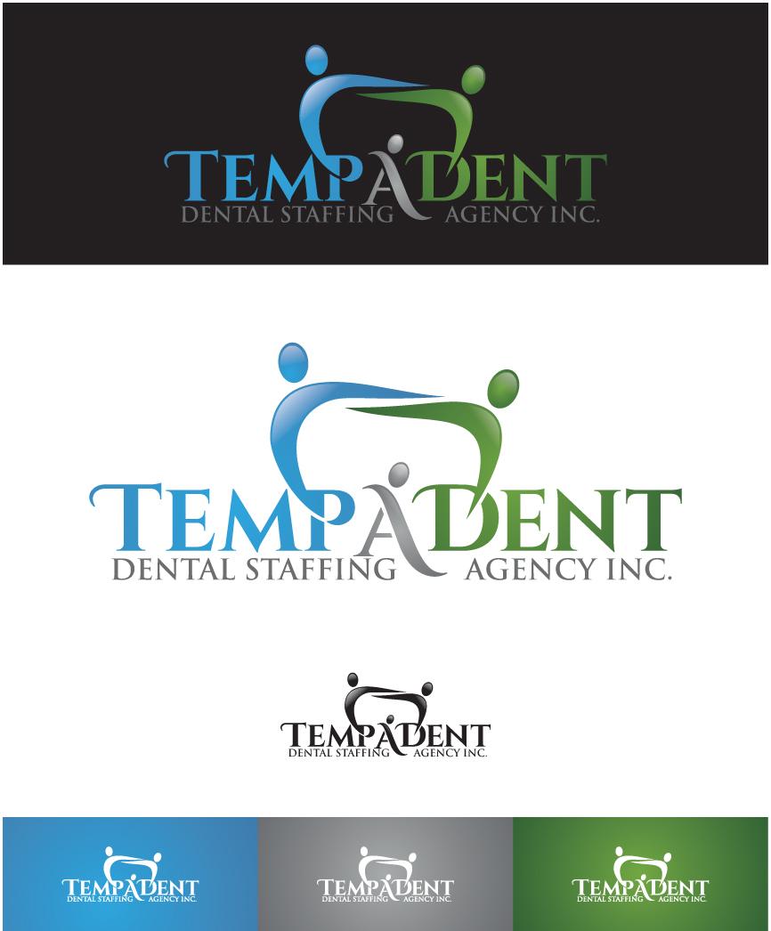 Logo Design by RasYa Muhammad Athaya - Entry No. 75 in the Logo Design Contest Artistic Logo Design for TempADent Dental Staffing Agency Inc..
