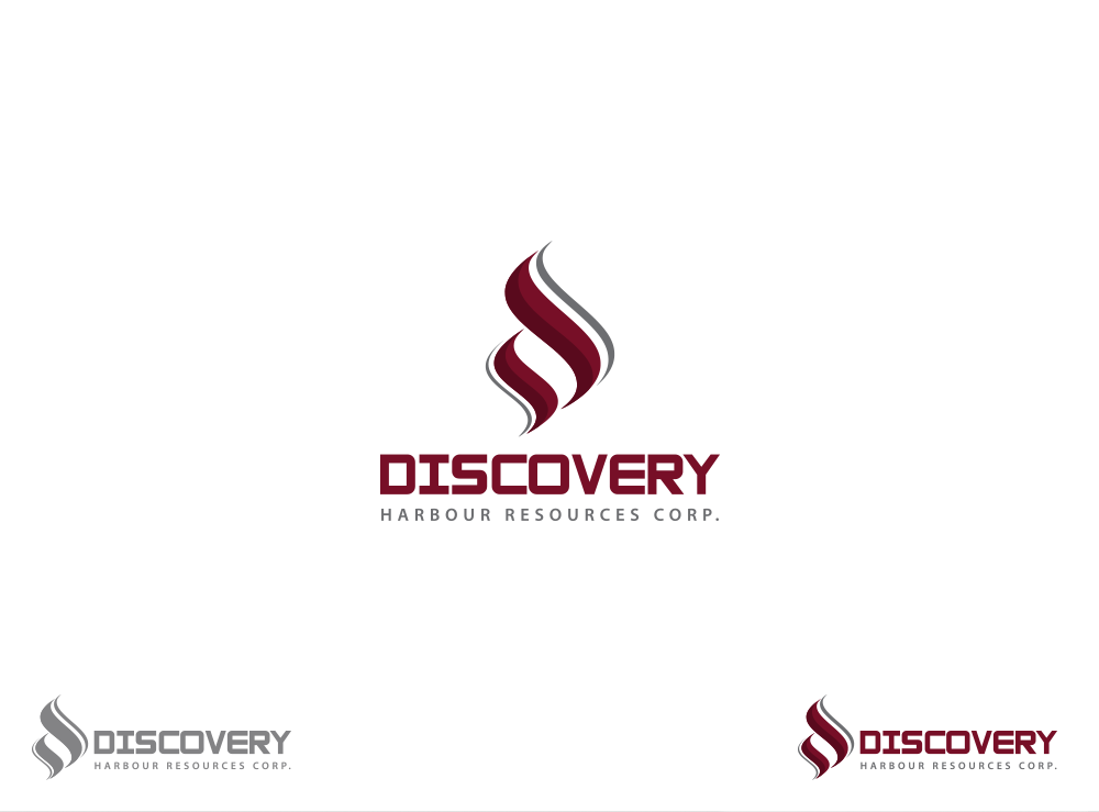 Logo Design by Asrullah Muin - Entry No. 15 in the Logo Design Contest 2BAR - Imaginative Logo Design for Discovery Harbour Resources Corp..