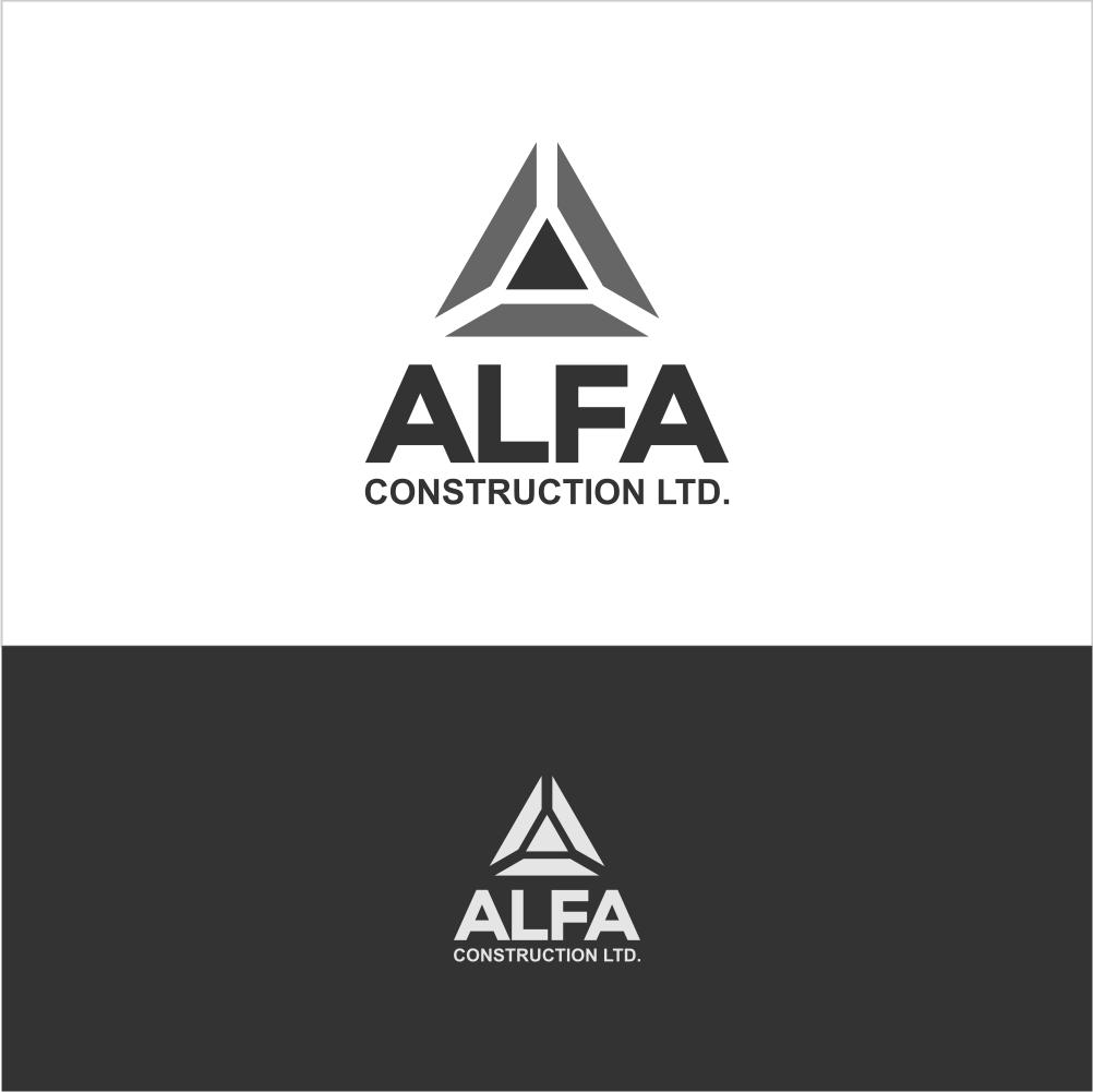 Logo Design by Farid Hakim - Entry No. 35 in the Logo Design Contest Fun Logo Design for Alfa Construction Ltd.