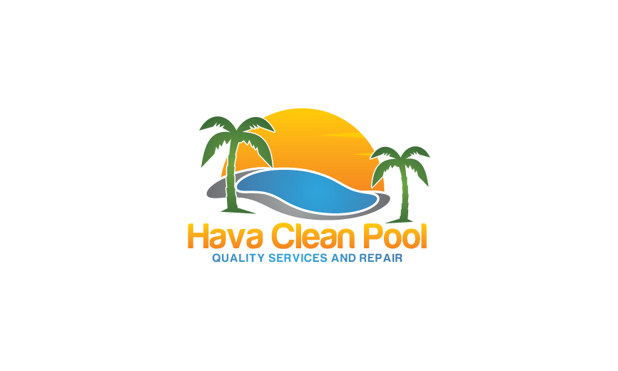 Logo Design by RasYa Muhammad Athaya - Entry No. 30 in the Logo Design Contest Hava Clean Pool Quality Service and Repair Logo Design.