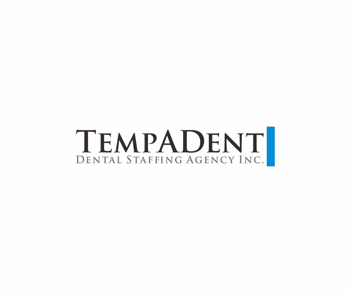 Logo Design by ninisdesign - Entry No. 93 in the Logo Design Contest Artistic Logo Design for TempADent Dental Staffing Agency Inc..