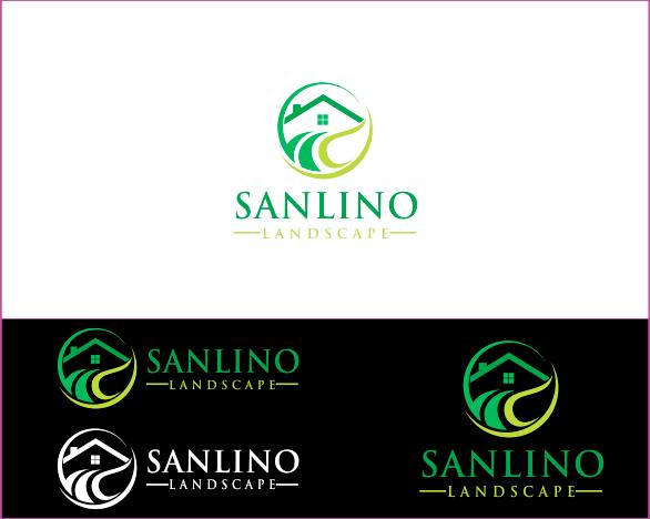Logo Design by Armada Jamaluddin - Entry No. 35 in the Logo Design Contest New Logo Design for Sanlino Landscape, LLC.