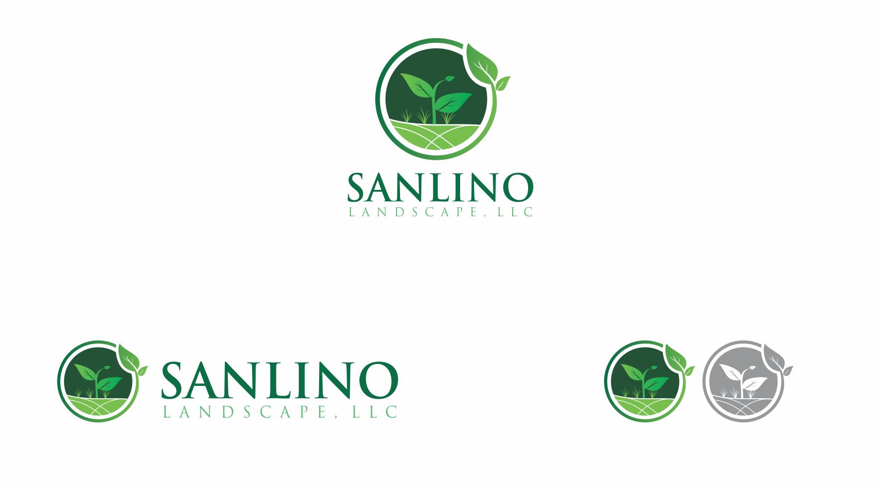 Logo Design by Private User - Entry No. 51 in the Logo Design Contest New Logo Design for Sanlino Landscape, LLC.