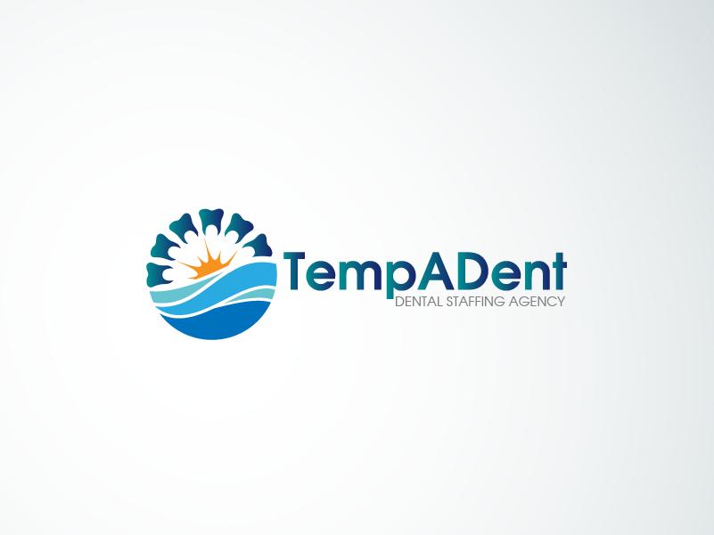 Logo Design by brands_in - Entry No. 108 in the Logo Design Contest Artistic Logo Design for TempADent Dental Staffing Agency Inc..