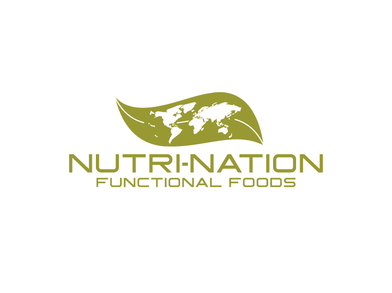 Logo Design by umxca - Entry No. 132 in the Logo Design Contest Nutri-Nation Functional Foods Logo.