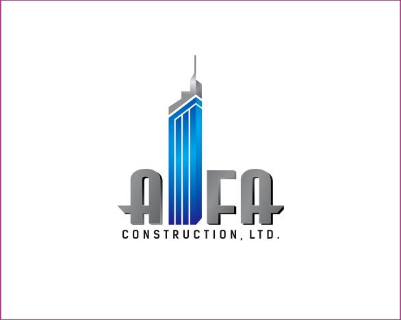 Logo Design by Armada Jamaluddin - Entry No. 64 in the Logo Design Contest Fun Logo Design for Alfa Construction Ltd.