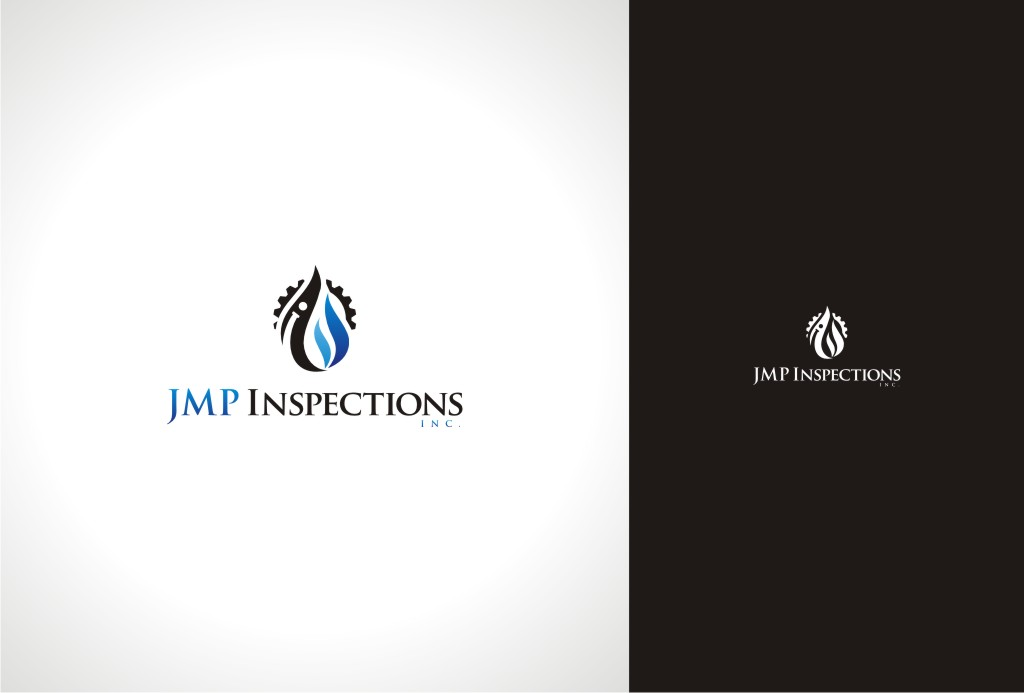 Logo Design by Gemboz Art - Entry No. 40 in the Logo Design Contest Inspiring Logo Design for JMP Inspections Inc..