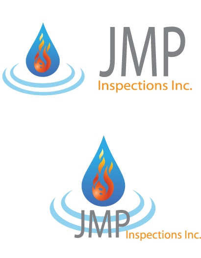 Logo Design by Tehzeeb Ahmed - Entry No. 42 in the Logo Design Contest Inspiring Logo Design for JMP Inspections Inc..