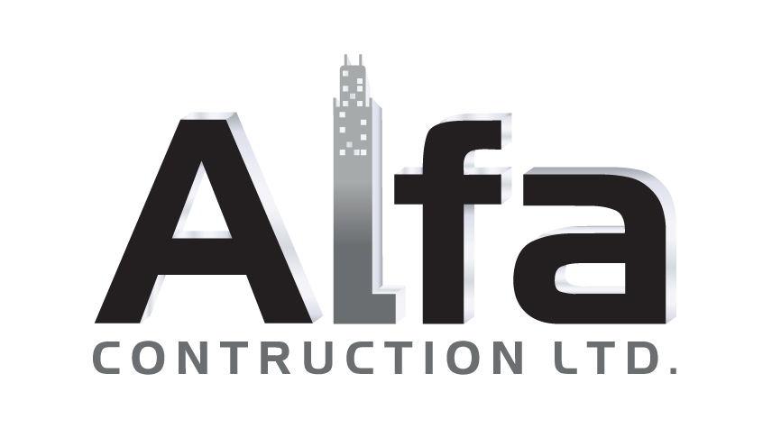 Logo Design by RasYa Muhammad Athaya - Entry No. 79 in the Logo Design Contest Fun Logo Design for Alfa Construction Ltd.