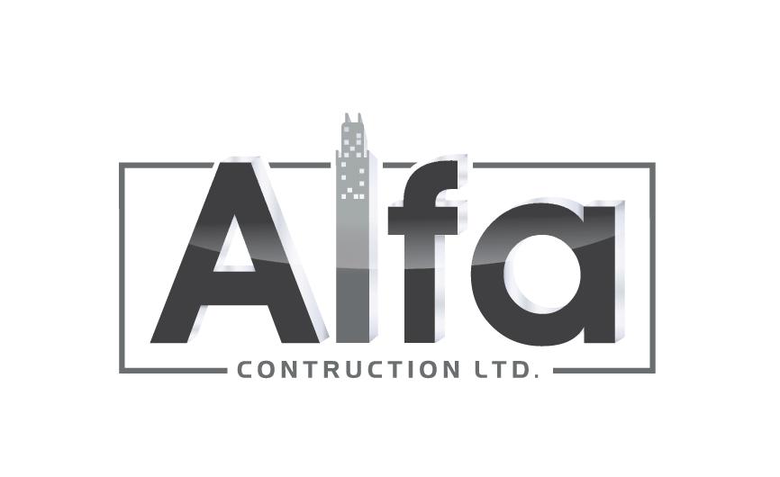 Logo Design by RasYa Muhammad Athaya - Entry No. 83 in the Logo Design Contest Fun Logo Design for Alfa Construction Ltd.