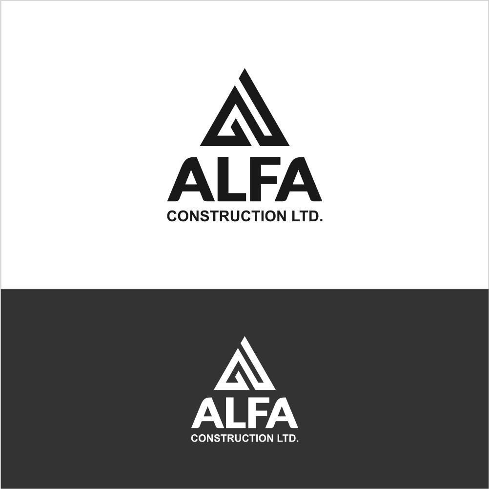 Logo Design by Farid Hakim - Entry No. 92 in the Logo Design Contest Fun Logo Design for Alfa Construction Ltd.