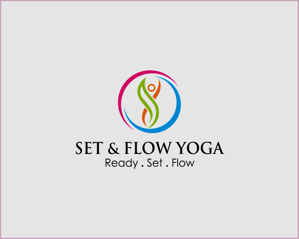 Logo Design by Armada Jamaluddin - Entry No. 9 in the Logo Design Contest Creative Logo Design for Set and Flow Yoga.