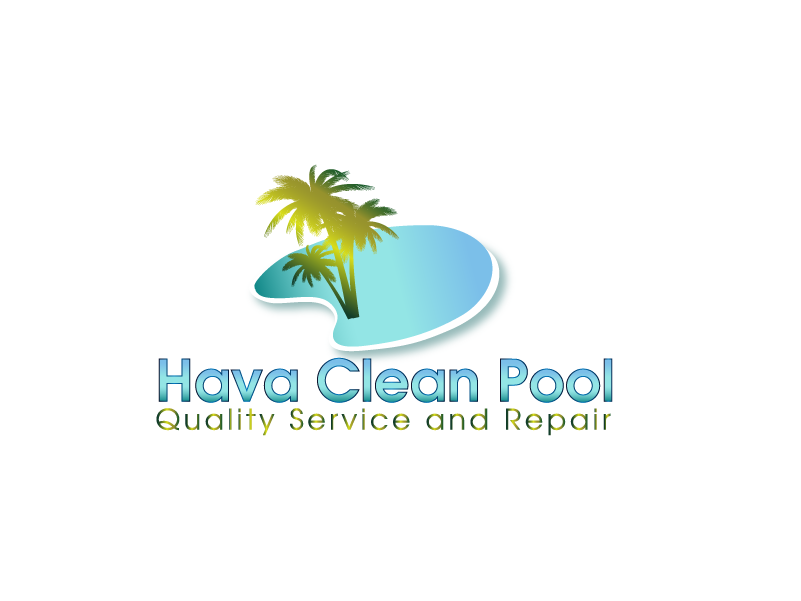 Logo Design by Private User - Entry No. 33 in the Logo Design Contest Hava Clean Pool Quality Service and Repair Logo Design.