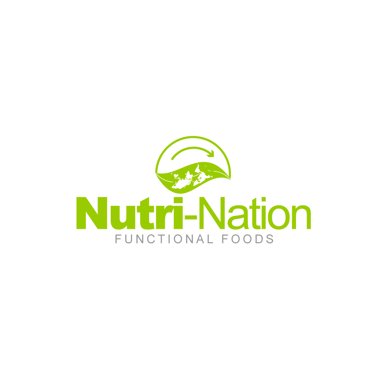 Logo Design by umxca - Entry No. 145 in the Logo Design Contest Nutri-Nation Functional Foods Logo.