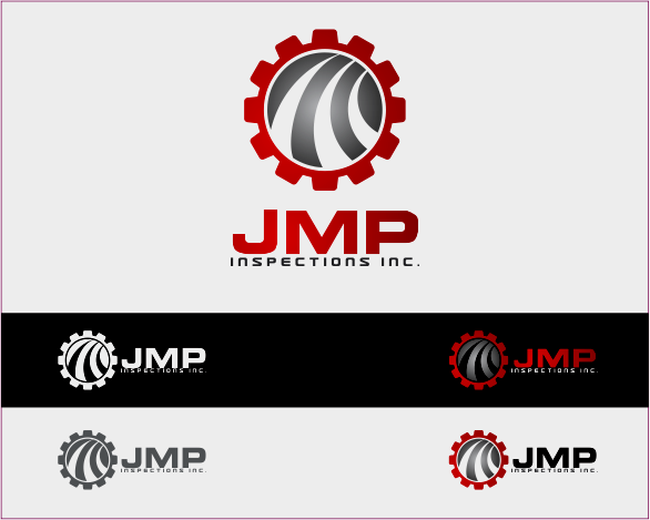 Logo Design by Armada Jamaluddin - Entry No. 113 in the Logo Design Contest Inspiring Logo Design for JMP Inspections Inc..