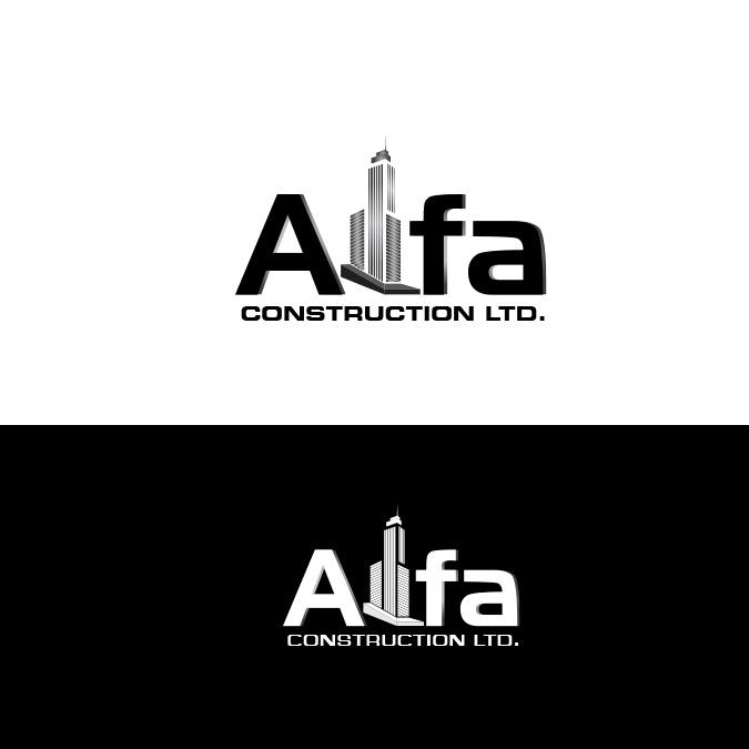 Logo Design by JPgraphix - Entry No. 102 in the Logo Design Contest Fun Logo Design for Alfa Construction Ltd.