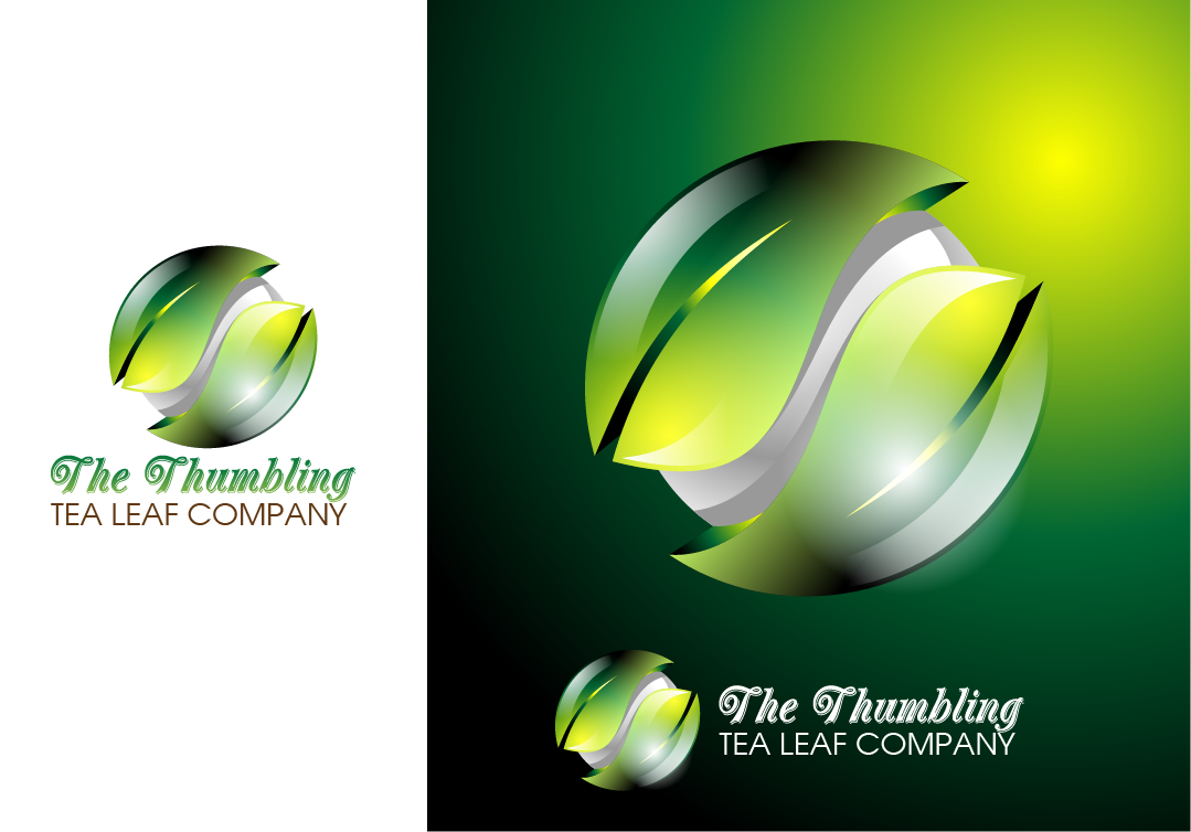 Logo Design by Private User - Entry No. 32 in the Logo Design Contest Creative Logo Design for The Tumbling Tea Leaf Company.