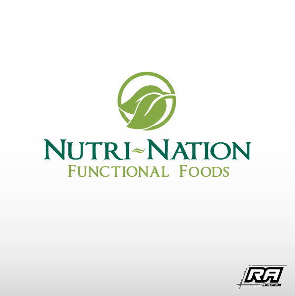 Logo Design by RA-Design - Entry No. 151 in the Logo Design Contest Nutri-Nation Functional Foods Logo.