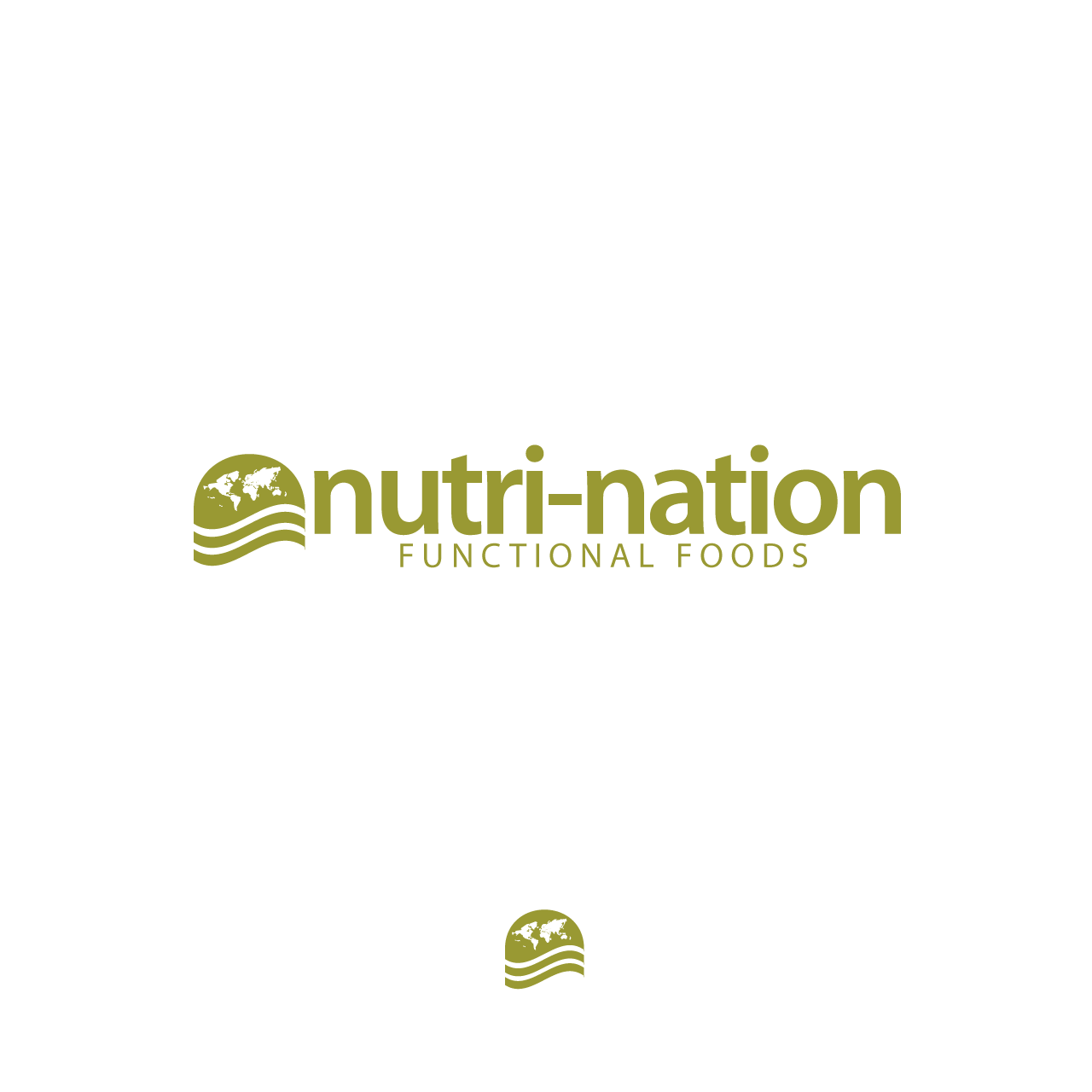 Logo Design by umxca - Entry No. 157 in the Logo Design Contest Nutri-Nation Functional Foods Logo.