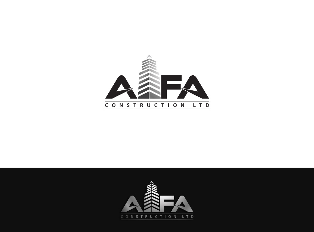Logo Design by Asrullah Muin - Entry No. 114 in the Logo Design Contest Fun Logo Design for Alfa Construction Ltd.