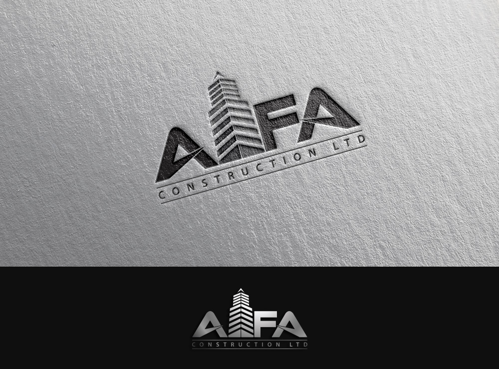 Logo Design by Asrullah Muin - Entry No. 115 in the Logo Design Contest Fun Logo Design for Alfa Construction Ltd.