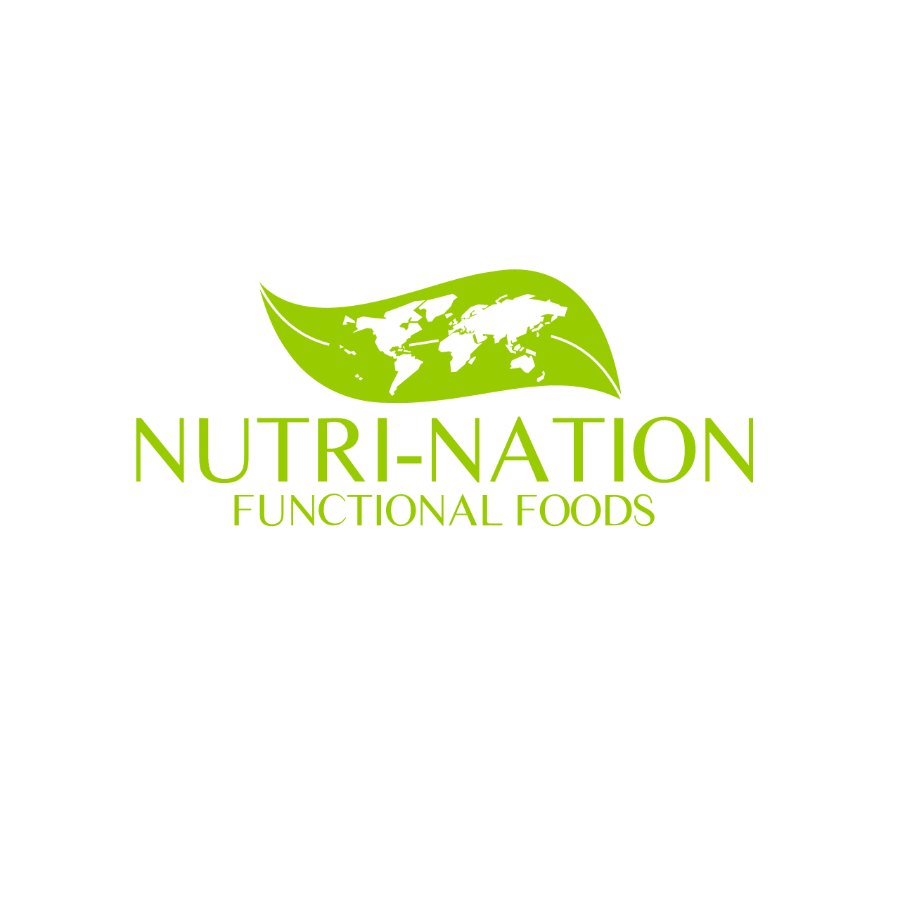 Logo Design by umxca - Entry No. 158 in the Logo Design Contest Nutri-Nation Functional Foods Logo.