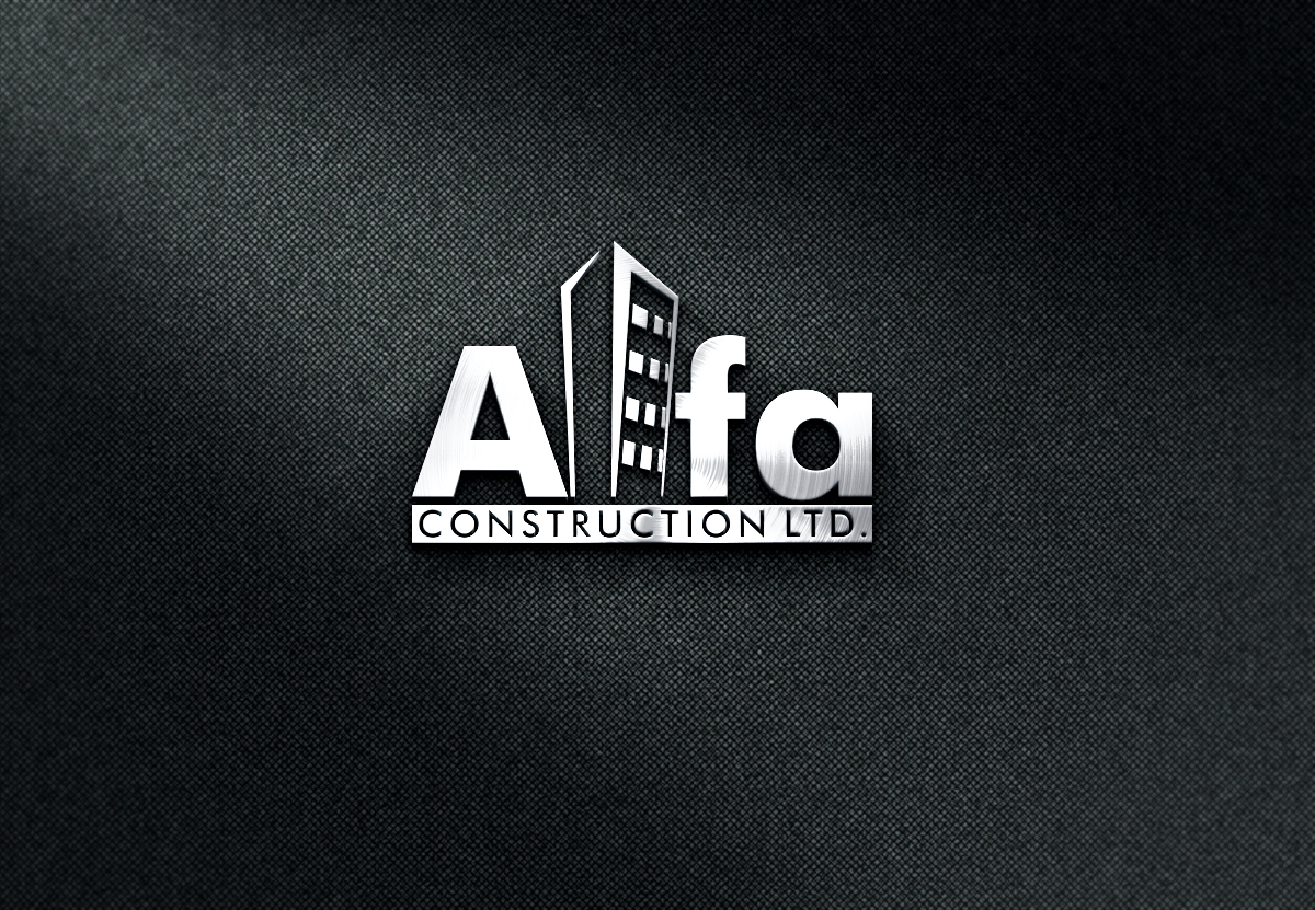 Logo Design by renren - Entry No. 122 in the Logo Design Contest Fun Logo Design for Alfa Construction Ltd.
