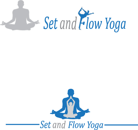 Logo Design by Tehzeeb Ahmed - Entry No. 30 in the Logo Design Contest Creative Logo Design for Set and Flow Yoga.