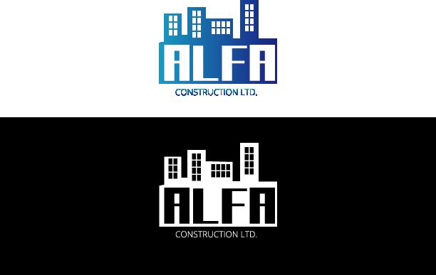 Logo Design by Private User - Entry No. 127 in the Logo Design Contest Fun Logo Design for Alfa Construction Ltd.