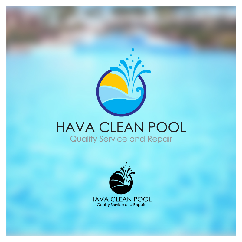 pool cleaning logo. Unique Pool Logo Design By Puspita Wahyuni  Entry No 60 In The Contest  Hava Throughout Pool Cleaning