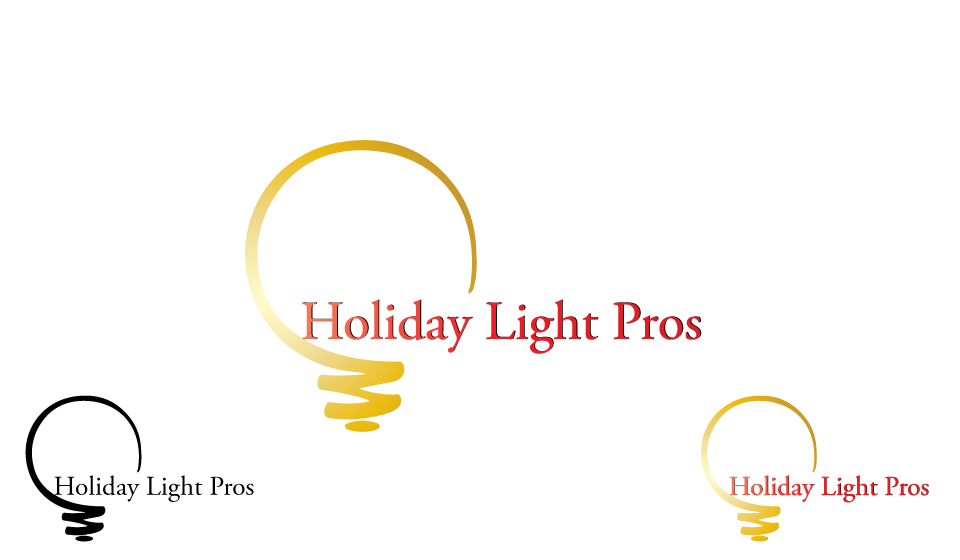 Logo Design by Qurban Hussain - Entry No. 22 in the Logo Design Contest Imaginative Logo Design for Holiday Light Pros.